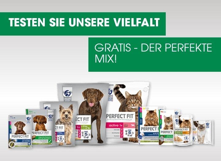Perfect Fit Hunde- / Katzenfutter GRATIS TESTEN GZG