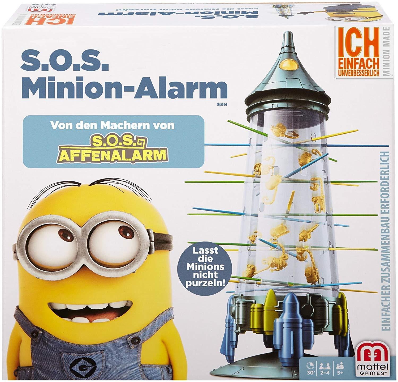 Mattel Games S.O.S. Minion-Alarm (Kinderspiel) für 6,77€ versandkostenfrei (Real)