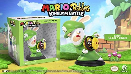Mario & Rabbids Kingdom Battle - Figur Rabbid Luigi (16,5 cm)