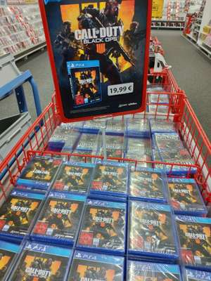 [Lokal Media Markt Wilhelmshaven] Call of Duty Black Ops 4 IIII PlayStation 4