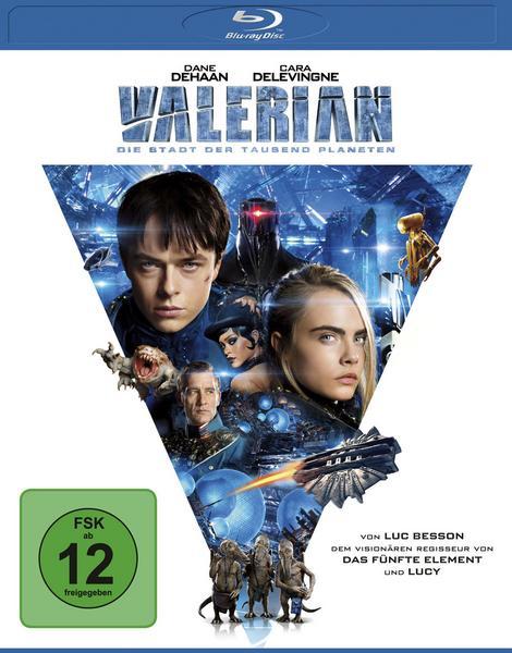 Valerian - Die Stadt der tausend Planeten (Blu-ray) für 4,83€ (Thalia Club)