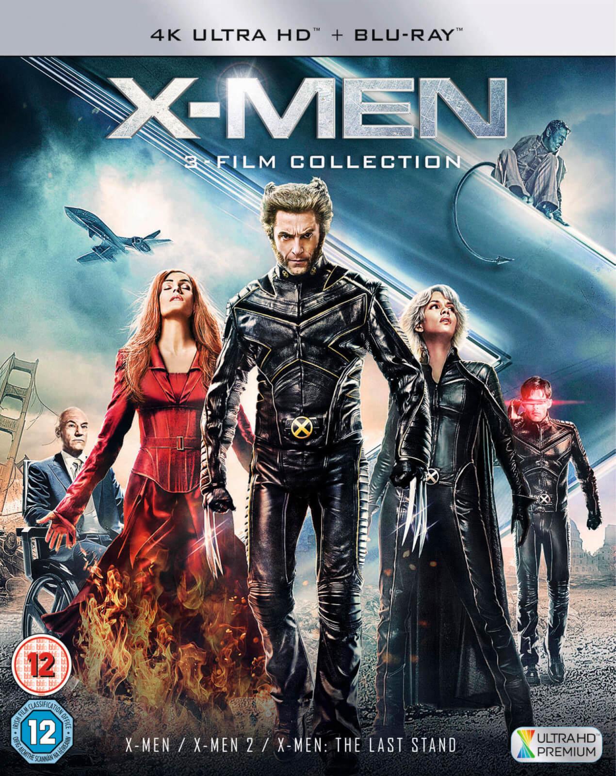 X-Men Trilogy (4K Ultra HD + Blu-ray) für 17,13€ (Zavvi UK)
