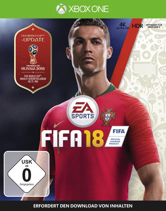 Fifa 18 (XB1) für 6,99 € bei GameStop