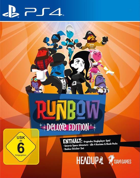 Runbow Deluxe Edition (PS4) für 5,99 € bei GameStop bei Abholung im Store