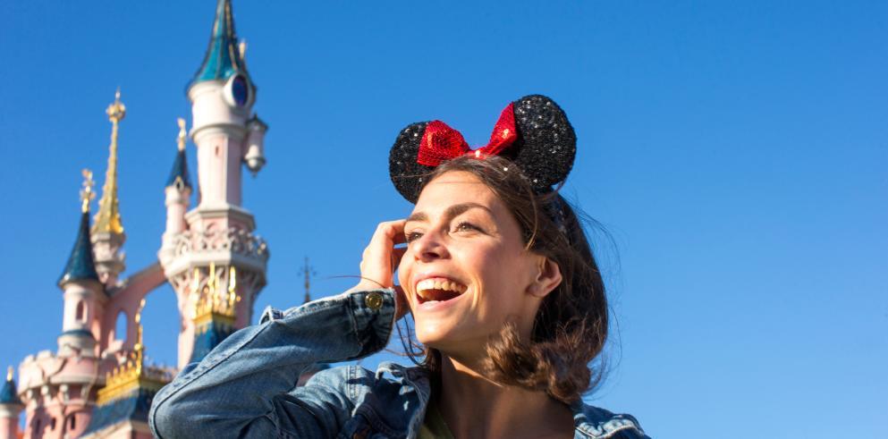 Reise ins Disneyland Paris für 150€ für zwei Personen inkl. Tageskarten und 4**** Hotel