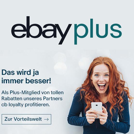 eBay Plus Vorteilswelt von CB Loyalty z.B. 20€ adidas Gutschein mit 100€ MBW