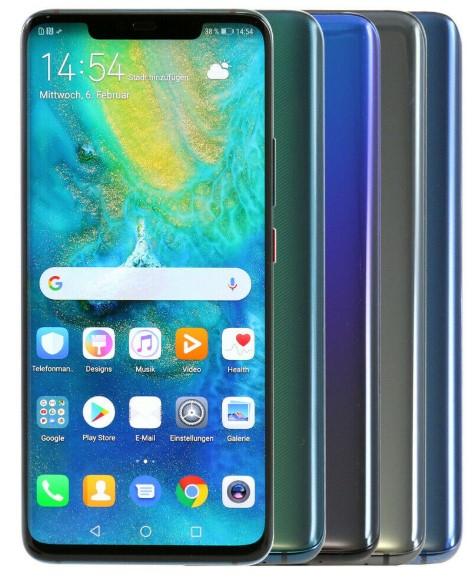 "Huawei Mate 20 Pro -  6,39"" QuadHD, 6GB RAM, 128GB Speicher, Android 9.0, 4200mAh   Zustand: wie neu   1 Monat Rückgaberecht"