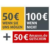 comdirect 50€ + 50€ amazon Gutschein XING + 25€ fürs Werben von Kunden