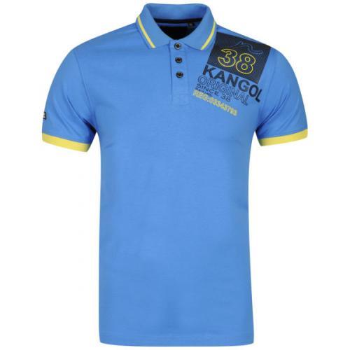 zavvi Deal of the Day: Kangol Men's Pops Polo Shirt - Blue für 10,49€ inkl. Versand + viele weitere Kangol Polos für 10,49€