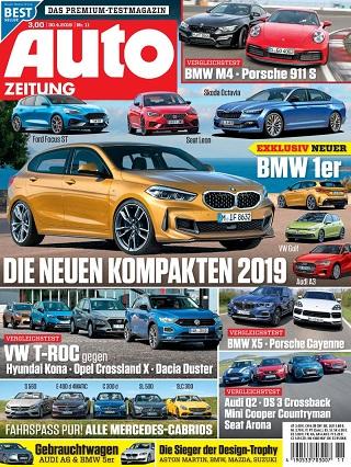 Auto Zeitung Abo (26 Ausgaben) für 78,75 € mit 80 € BestChoice Universalgutschein