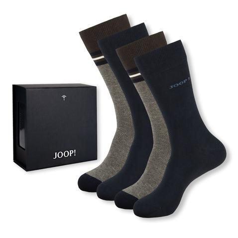 4 Paar Joop! Business Socken in Geschenkbox | unifarben oder farblich gemischt im Angebot