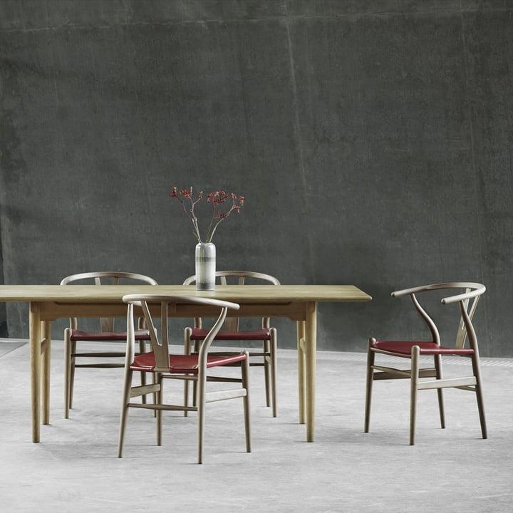 Design-Klassiker: Wishbone / Y-Chair von Hans J. Wegner, Carl Hansen CH24 in unterschiedlichen Ausführungen ab 334,61 €