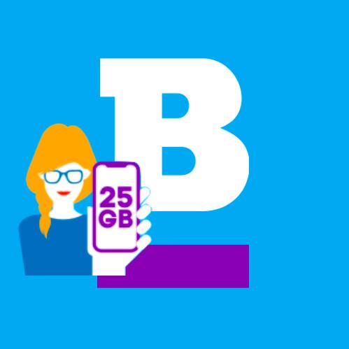 25GB LTE Datenvolumen für alle Prepaid-Aktivierungen bei Blau bis 03.06.19 (Telefonica-Netz)