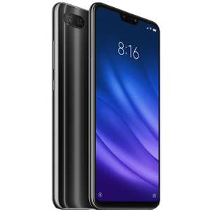Xiaomi Mi8 Lite Global Version 4/64GB SD660,USB Type-C, 3350mAh - Schwarz