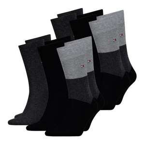 6x Tommy Hilfiger Business Socken in den Größen 39-46