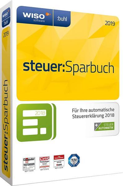 WISO steuer:Sparbuch 2019 (PC) für 18,99€ [bol.de] auf CD-ROM von Buhl Data für Steuerjahr 2018
