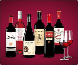 gmx / web.de: 6x Rioja-Wein & 2 Gläser von Schott Zwiesel für effektiv 4,90 €