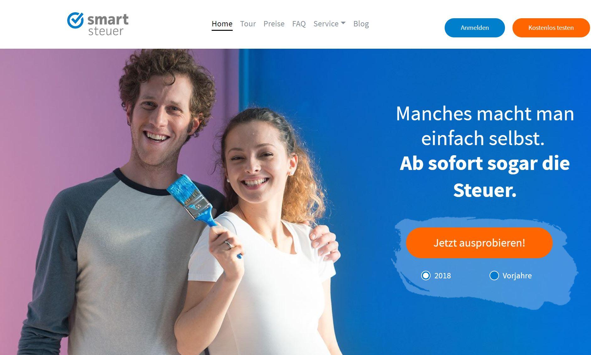 smartsteuer - Steuererklärung online selber machen