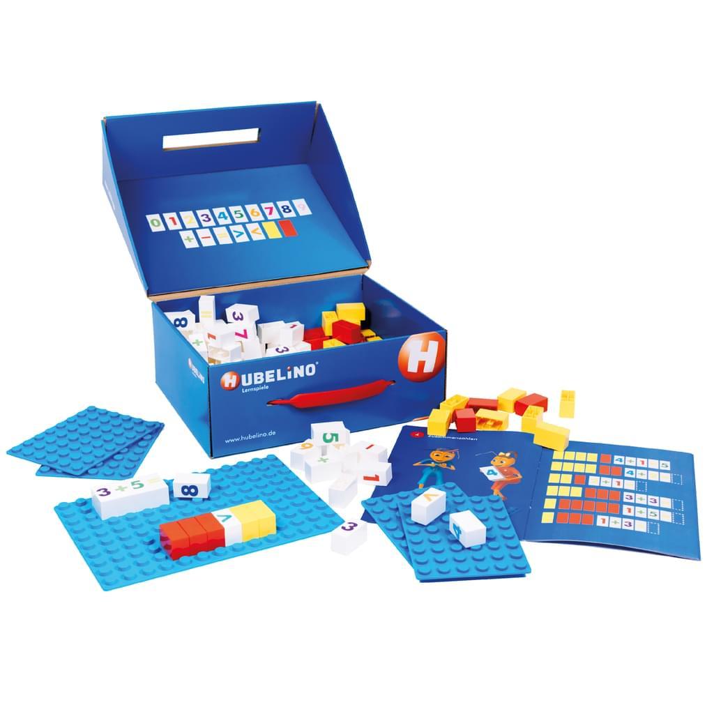 """Hubelino """"Steine zählen - Rechnen lernen"""" (Kinderspiel, kompatibel mit Duplo, 120 Teile, Altersempf. 6 - 8 J) *versandkostenfrei* [Real.de]"""