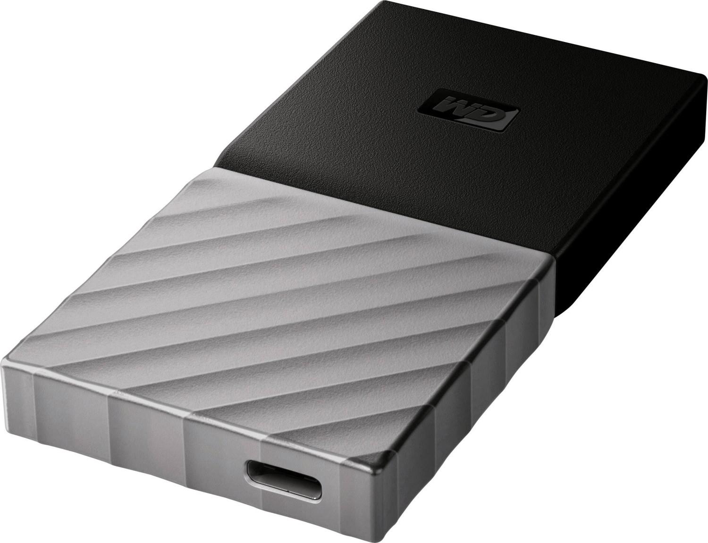 WD My Passport SSD 256 GB oder 512 GB (88€) (Lesen: ~540 MB/s, Schreiben: ~350 MB/s, USB Typ-C 3.1 / 3.2 Gen1)