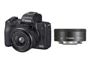 Canon EOS M50 Kit 15-45 mm + 22 mm