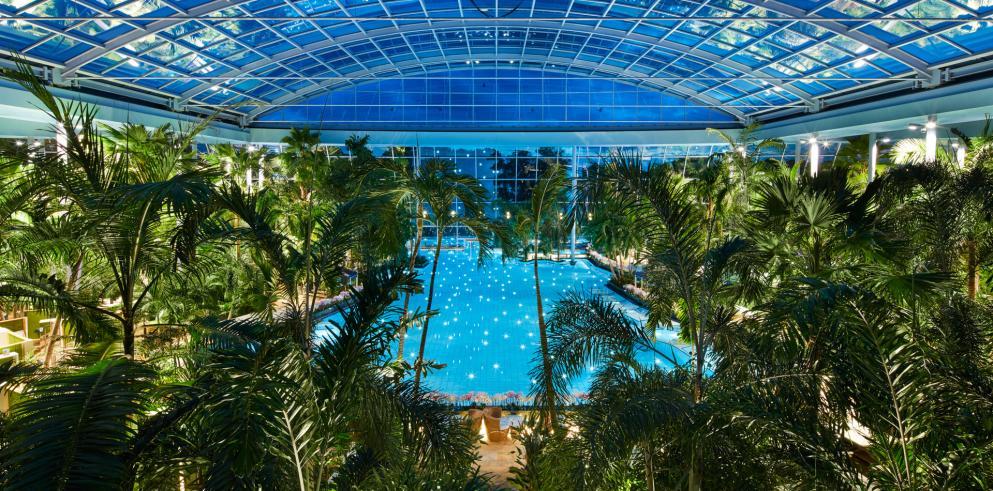 Thermen & Badewelt Euskirchen + Übernachtung im 4* Hotel ab 55€ p.P. (Palmenparadies Tageskarte inkl., zzgl 11,50€ p.P. für Vitaltherme)