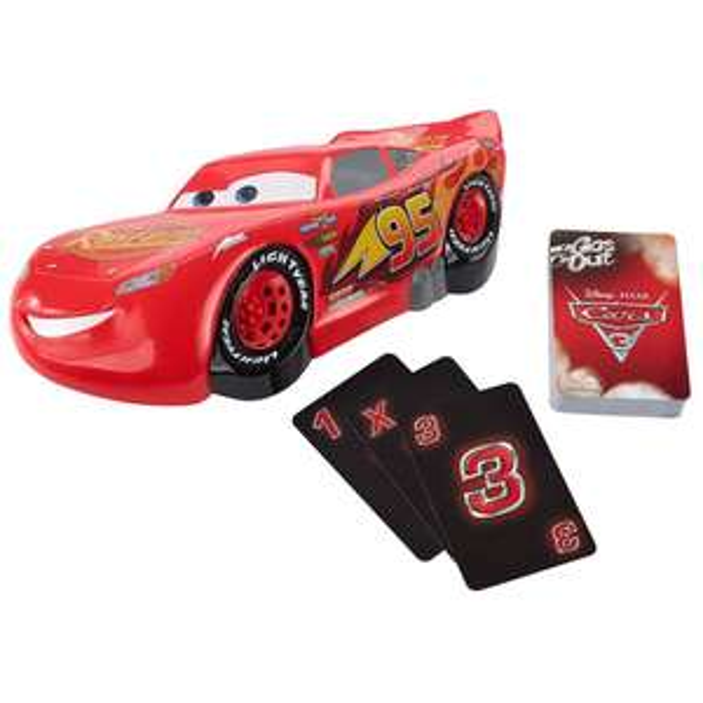 """Mattel Disney Kinder-Kartenspiel Crash Cars 3 """"FFP69"""" *versandkostenfrei* [Real.de]"""