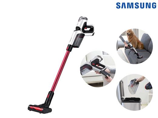 "Samsung 32,4V-Akku-Staubsauger ""Powerstick Pro Rood"" (32,4 V Li-Ion-Akku, bis zu 40 Minuten Akkulaufzeit) [iBOOD]"