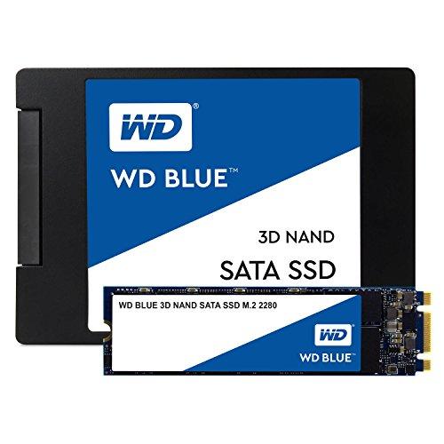 """WD Blue 2TB 3D NAND Internal SSD M.2 SATA für 251,33€ & WD Blue 2TB 3D NAND Internal SSD 2.5"""" SATA für 237,60€ [Amazon.fr]"""