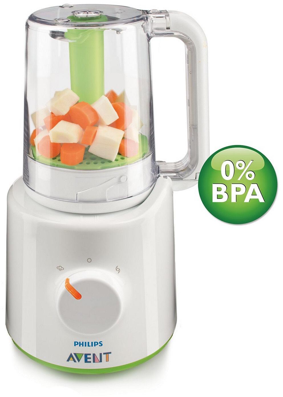 Philips Avent 2-in-1 Babynahrungszubereiter [Dampfgarer und Mixer] für 59,95€ inkl. Versand