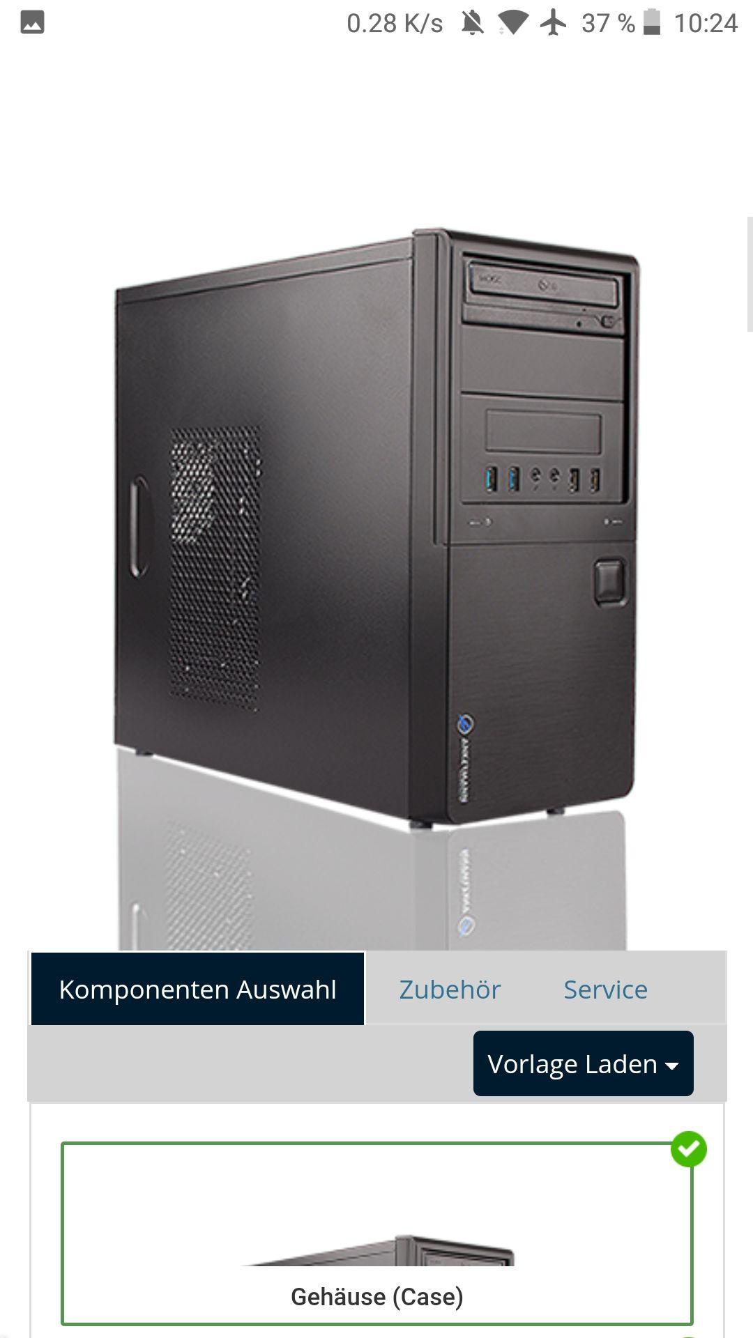 Workstation, Desktop PC, RYZEN 3 2200G MIT HIGH END GRAFIK, 120GB SSD, 1 TB HDD,  BE QUIET NETZTEIL, WLAN, DVD BRENNER, TOP!