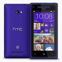 HTC 8X Windows Phone California Blue