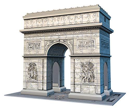 Ravensburger 3D Puzzle Triumpbogen mit 216 Teilen oder Rialtobrücke [Amazon prime oder Galeria-Kaufhof]