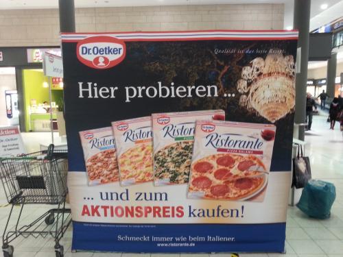 [lokal Rostock] Dr. Oetker Ristorante kostenlos probieren