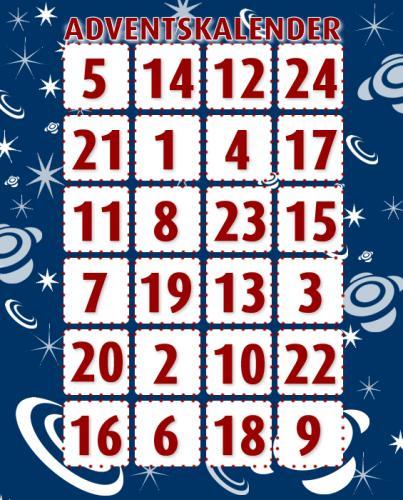 [UPDATE] Sammlung aller Adventskalender für Gewinnspiele und Deals 2012