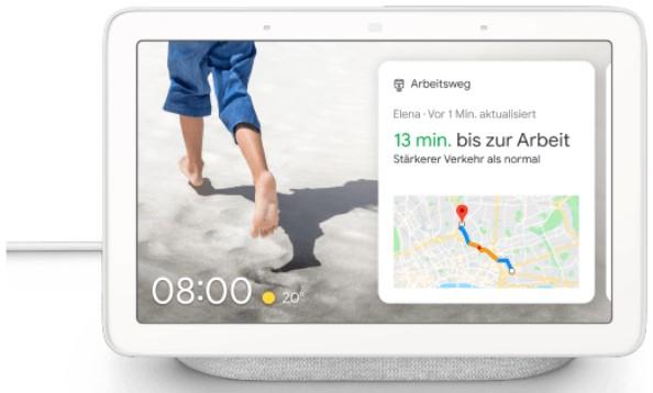 Vorbestelleraktion: Google Nest Hub Smart Display inkl Google Chromecast 3. Generation