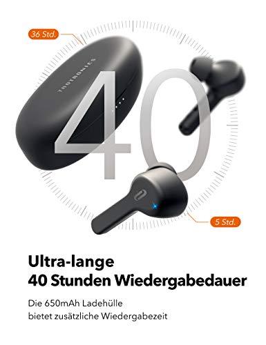 TaoTronics True Wireless Kopfhörer Bluetooth 5.0 TWS für 31,24€ inkl. VSK