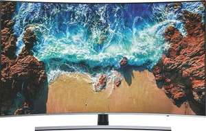 TWIN-Tuner Samsung UE55NU8509T Curved-LED-Fernseher