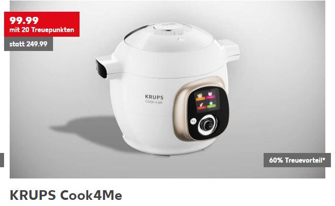Krups Cook4Me Multikocher mit Kaufland Treuepunkten