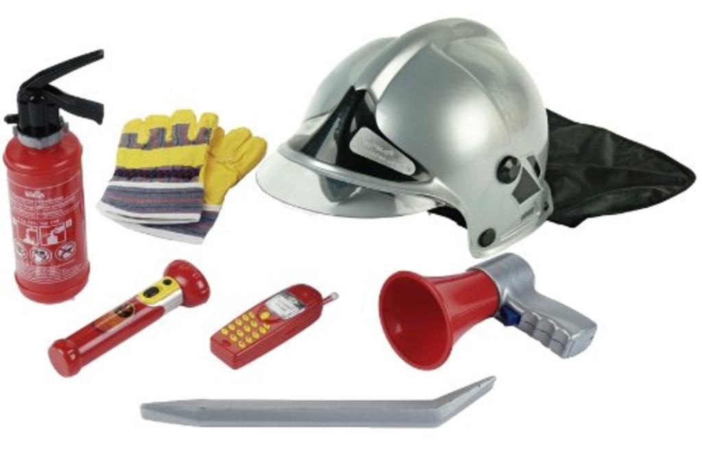 """Theo Klein 7-teiliges Feuerwehr-Set """"8928"""" für 14,77€ bei Real *versandkostenfrei* oder Amazon-Prime für 14,84€ [Real.de / Amazon-Prime]"""