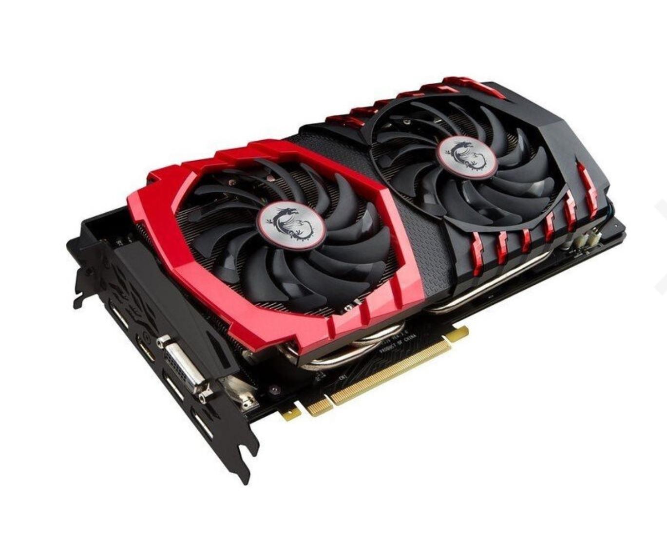 MSI GeForce GTX 1070 Gaming 8G, 8GB GDDR5, DVI, HDMI, 3x DisplayPort