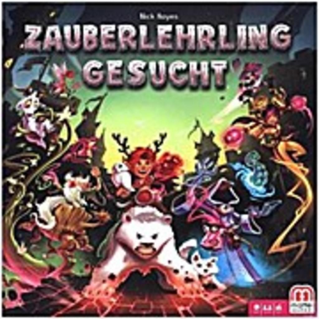 """Mattel Kinder-Brettspiel """"Zauberlehrling Gesucht"""" *versandkostenfrei* [Real.de]"""