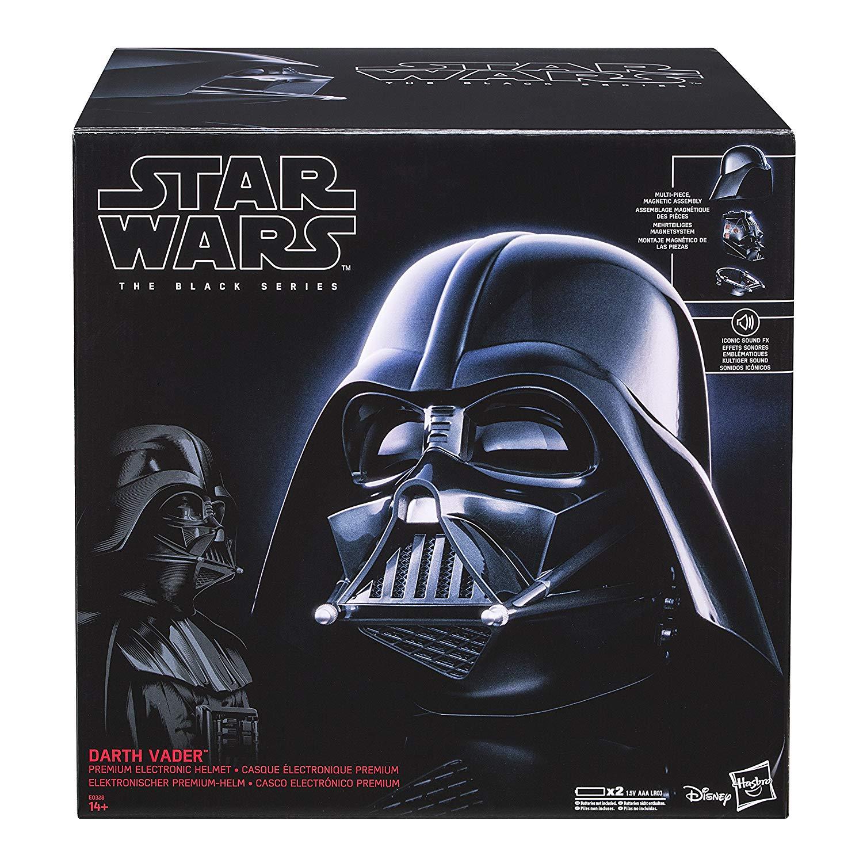 (Amazon UK ) Hasbro E0328EU4 - Star Wars The Black Series Replica Darth Vader Helm inkl. Versand 75€