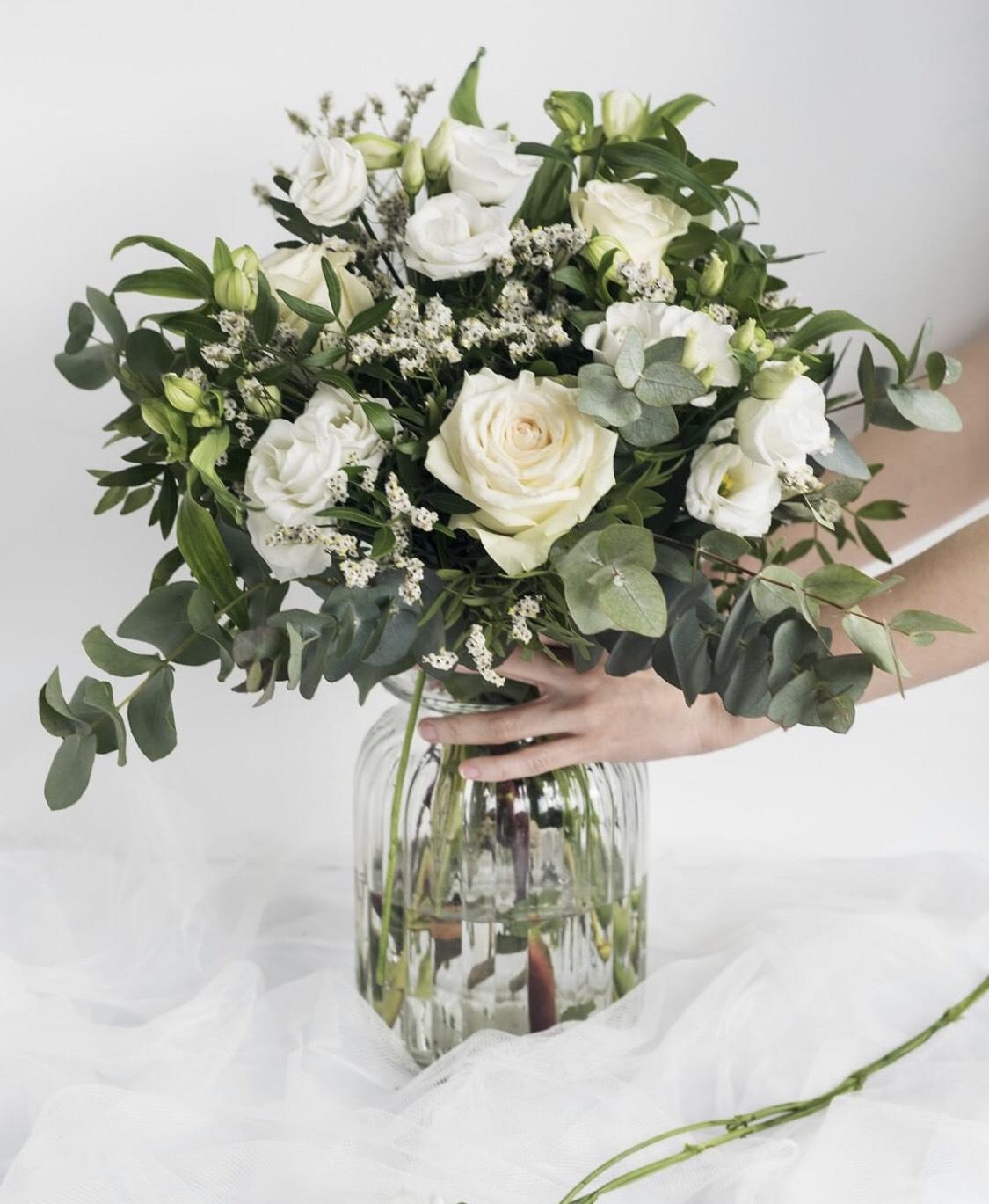 20 % auf alle Blumensträuße bei Colvin