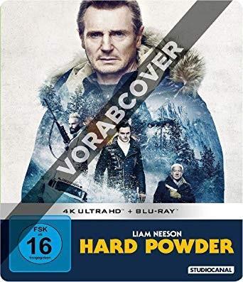 [Thalia] Hard Powder Limited Steelbook Edition - 4K Ultra HD (4K Ultra HD Blu-ray + Blu-ray) für 21,49€ inkl. VSK (Versandkostenfrei)