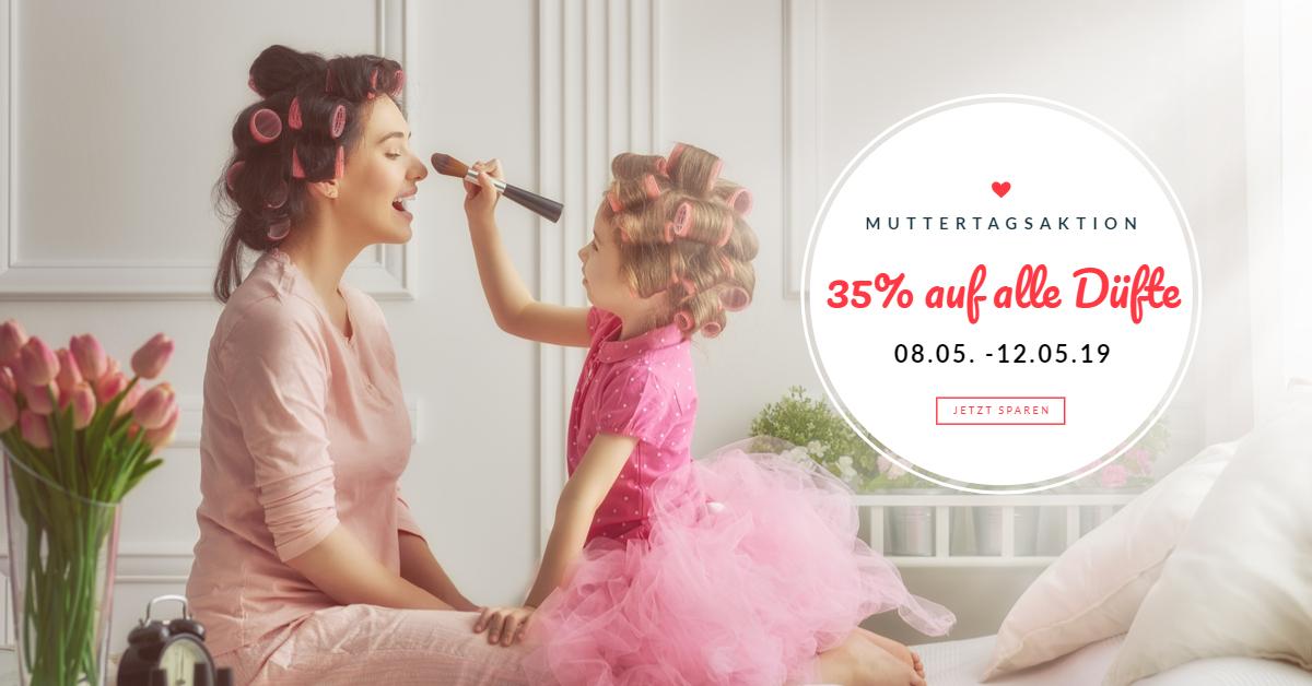 Muttertagsaktion bei éclat - 35% auf alle Duftzwillinge
