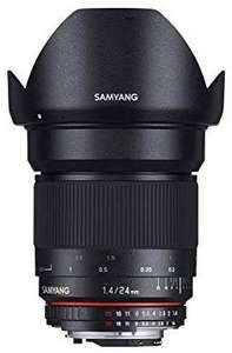 Samyang 24mm f1.4 ED AS UMC für Sony E-Mount