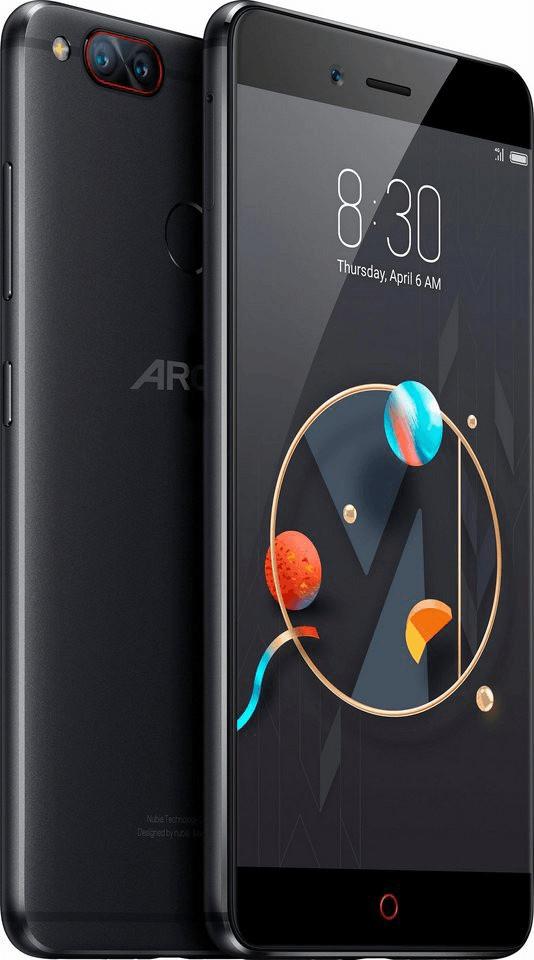 "Archos Diamond Alpha (5.2"", 1920x1080, Snapdragon 652, 4GB RAM, 64GB + microSD, 2950 mAh, Hybrid-SIM, Android 6.0 mit nubia UI)"
