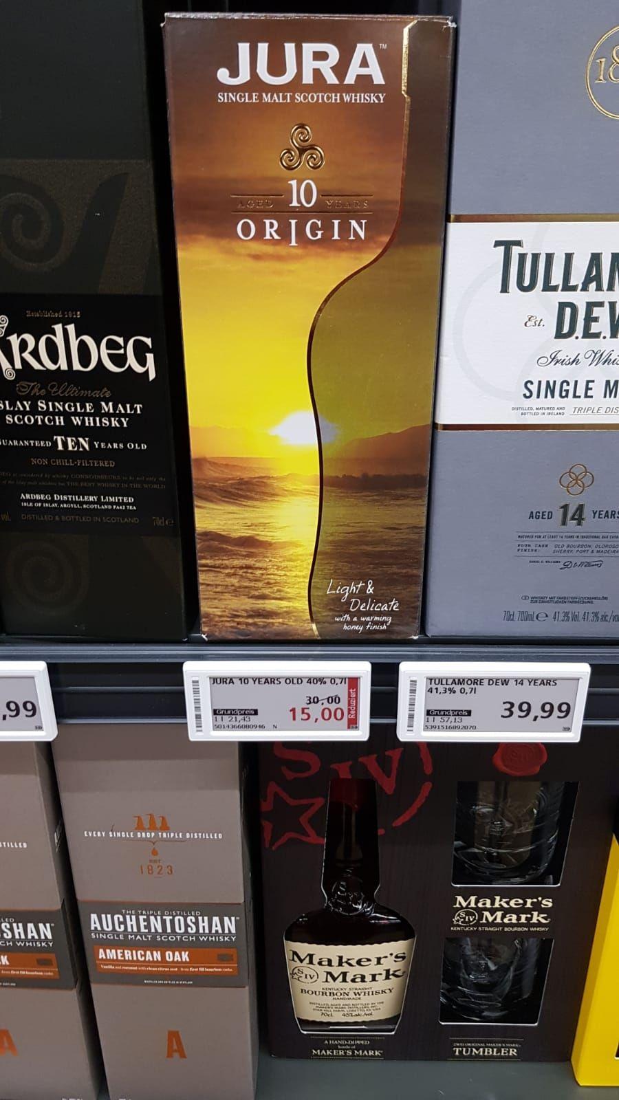 Isle of jura origin Single malt whisky 10 Jahre  REAL