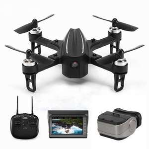 Quadcopter RTF Eachine EX2mini (relabled Bugs 3 mini) Brushless 5.8G FPV Camera RC   - With Camera + FPV Monitor + Goggles